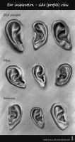 Ear Shapes Inspiration by Aldriann