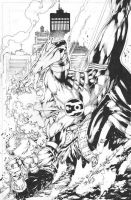 Cover Red Lantern 07 by Ed-Benes-Studio