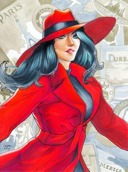 Where in the world is Carmen Sandiego? by WeijiC