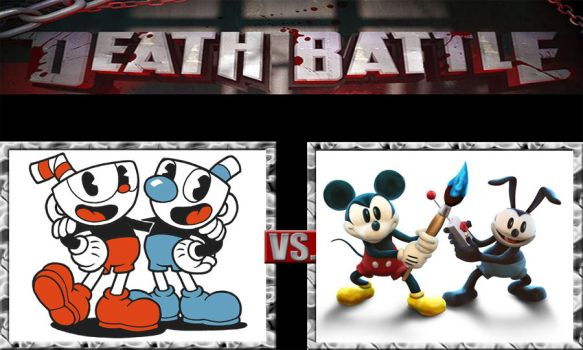 Death Battle Ideas 232 Cuphead Bros Vs Mickey Bros by kouliousis