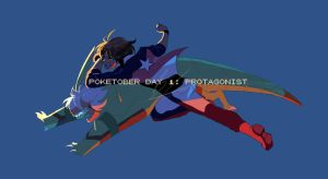 Poketober Day 1: Protagonist(s) by Billiam-X
