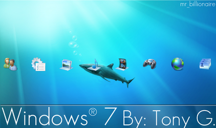 Windows 7 PS3 Theme UPDATE by mr-billionaire
