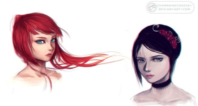 Fire and Ice by CharmaineCheese