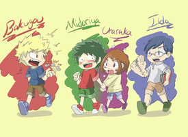 My Hero Academia - Kid Edition by TheUpbringer