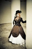 Steampunk Lydia III by ToriaGria