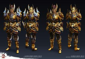 Guild Wars 2 - Glorious Heavy Armor by Alemja