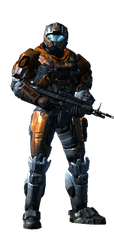 My Halo Reach Armor 3 by FelgrandKnight34