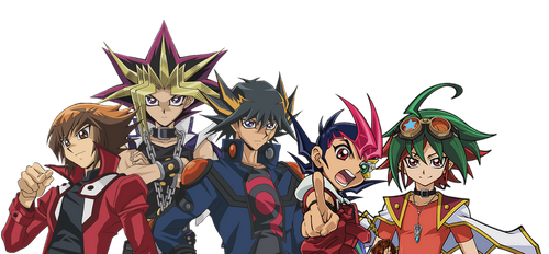 All 5 of Yu-Gi-Oh by Banjo2015