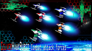 SILVER HAWK BURST Combat attack forces by Tarrow100