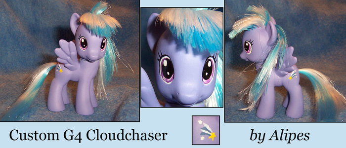 MLP G4 Custom Background Character Cloudchaser by Alipes