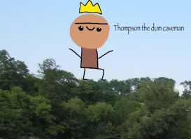 Thompson the dum caveman by mysticleperson324
