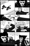 WOLVERINE vs THE BLUE FIRE KNIGHT page 1 of 10 by Jesse-the-art-maker