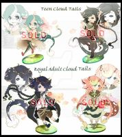 Cloud Tail Batch AUCTION : CLOSED by Tammi-Adopts