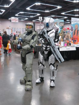 Master Chief and Prefect Spartan