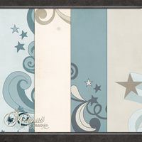 Shooting Stars Paper Pack by DaydreamersDesigns