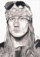 Axl Rose by Carny-Kapturek