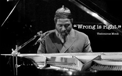 Thelonious Monk (Wrong) by evilwonders