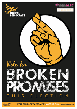 #keepingitrealposter Lib Dem EUelection Poster '14 by DigitallyDestined