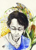Barbara McClintock by chid0