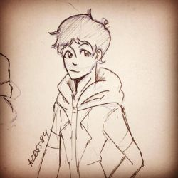 Inktober Day 31 Lance  by Ailizerbee08