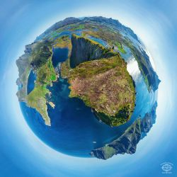 Offersoykammen planet panorama by MD-Arts