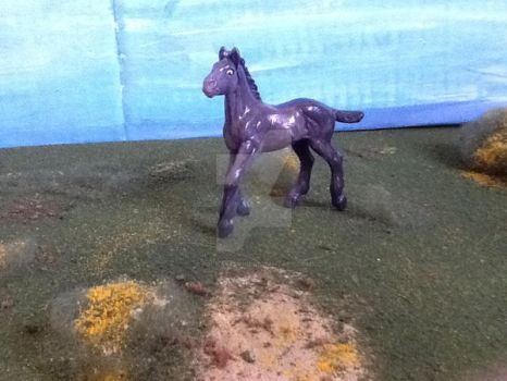 Customized Model Horse foal by popmaster101