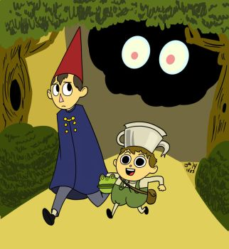 Over the Garden wall by jimferno