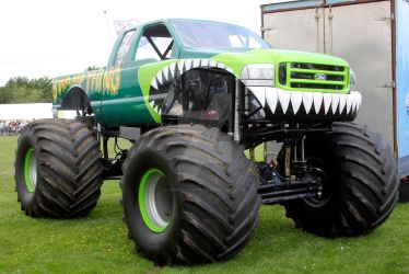 Monster Truck 02 - Swamp Thing by gopherboy76
