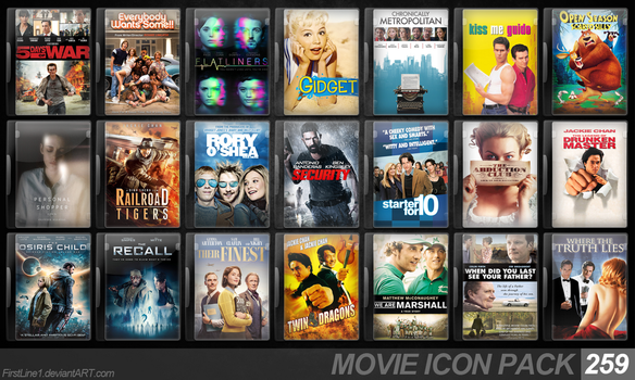 Movie Icon Pack 259 by FirstLine1