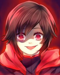 Ruby's smile, glare, and goodbey by khalilfrederick