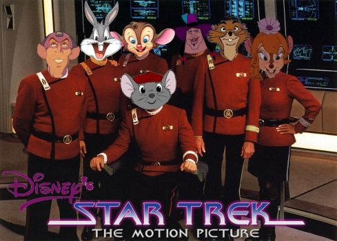 Disney's Star Trek The Motion Picture by 15willywonka
