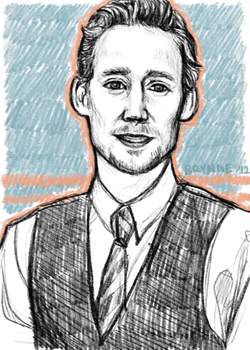 Tom Hiddleston by Svenly