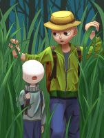 Camping with teacher by balderdash94123