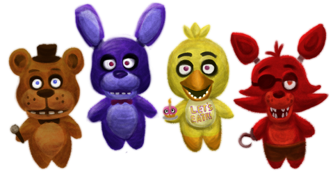 Five Nights at Freddy's by Reiterei