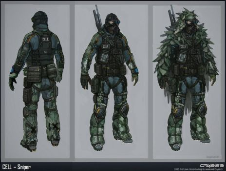 CELL Sniper concept by Bogdanbl4