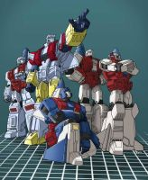 Aerialbots by RobbyS