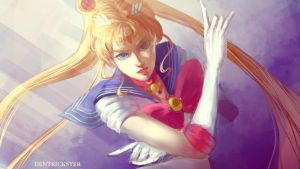 Sailor moon redraw by DenTrickster