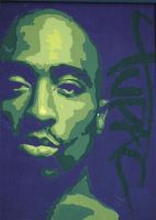 Tupac by Fioso
