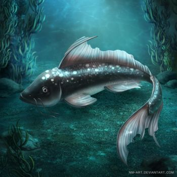Cave Fish by NM-art