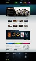 Video Site Concept by z-design