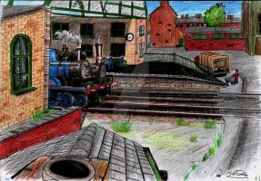 Sodor Scenarios: Small? Or just foreign? by MrJoj