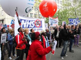 May 18th 2013 - Save the NHS: 12 by LouHartphotography