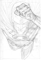 Red Robin Pencils by manapul