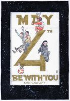 May the 4th be with you - celebrate Star Wars by DandyAngelicaVannini