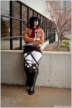 SnK: Mikasa by CosplayerWithCamera