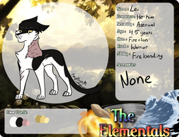 Lei [Elementals application] by kerorolover16