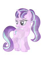 Crystal Starlight Glimmer by illumnious