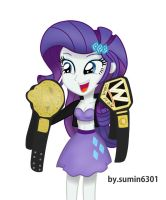 Rarity - Champion belts by sumin6301