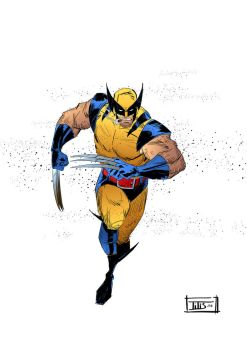 ...and the second Wolverine for 2018 by IttoOgamy