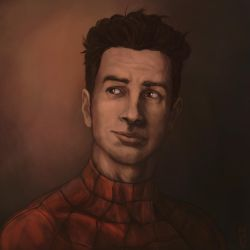 [Comic Portrait] Peter Parker by GiovaBellofatto